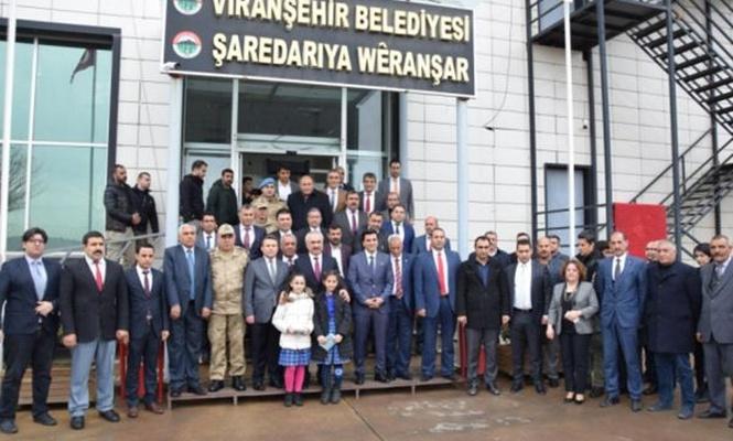 İçişler Bakan Yardımcısı Ersoydan Viranşehir Belediyesine ziyaret