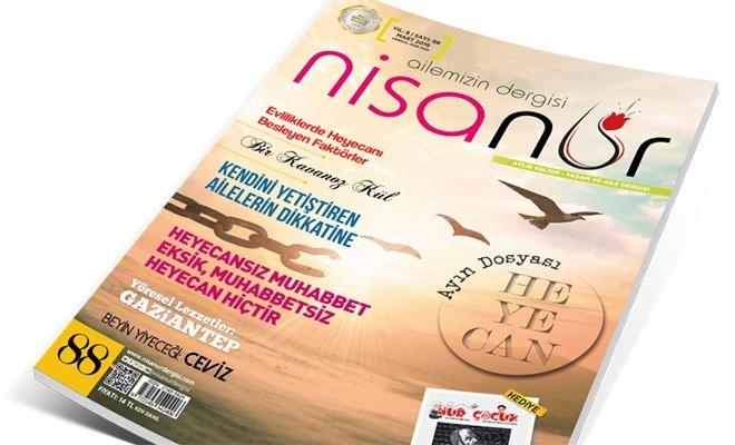 Nisanur Dergisi'nin mart sayısı çıktı