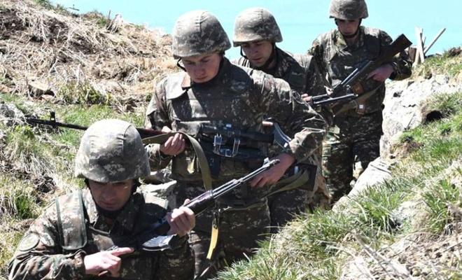 Azerbaijani soldier killed from Armenian sniper fire