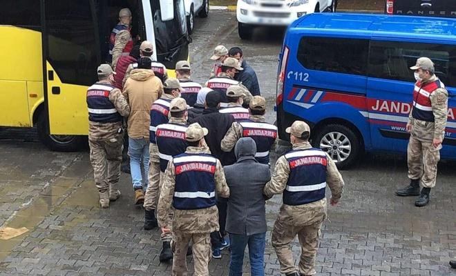 Mardin'deki uyuşturucu operasyonunda yakalanan 6 kişi tutuklandı