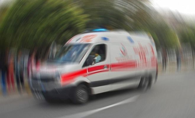 Uşak'ta otomobil devrildi! 1 ölü, 1 yaralı