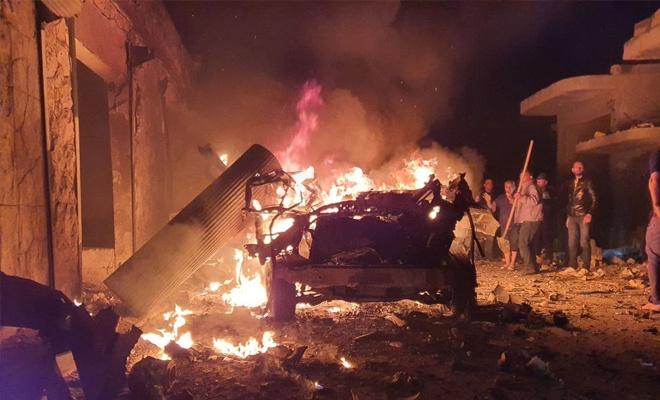 Azez'de bombalı saldır: 5 sivil yaralandı