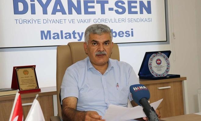 Diyanet-Sen: Filyasyondaki din görevlilerin hakları ve sağlığı göz ardı edilmemeli