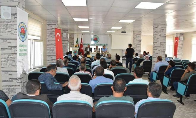 """""""Yemyeşil Urfa"""" projesi için mahalle muhtarlarıyla toplantı"""