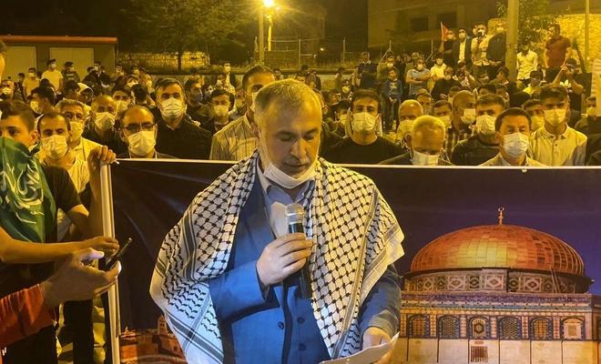 HÜDA PAR Mardin'in birçok ilçesinde siyonist işgal rejimini telin etti