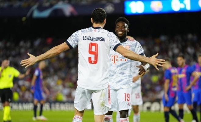 Barcelona'ya sahasında, Bayern'den ağır darbe
