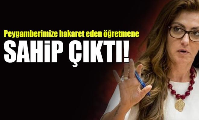 Peygamberimize hakareti savunan Türkiyeli vekil!