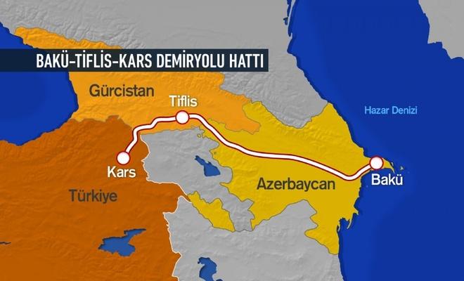 Bakü-Tiflis-Kars Demir Yolu Hattı'ndan taşınan yük miktarı ve ayrıntılar