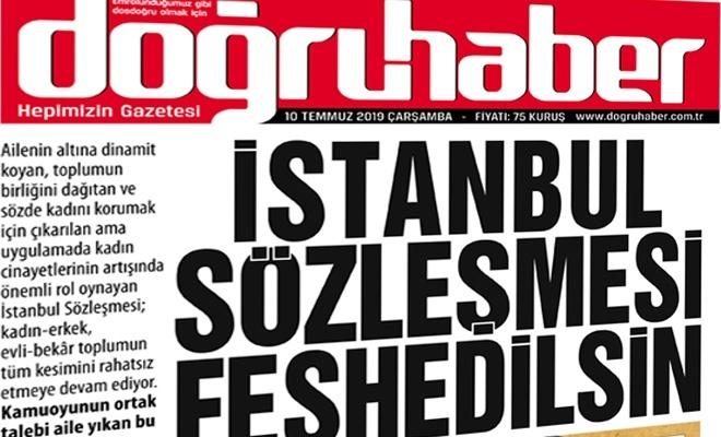 İstanbul  Sözleşmesi  Feshedilsin