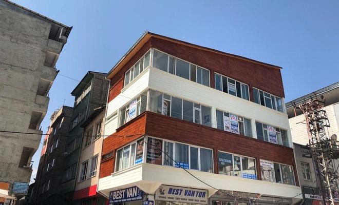 Van'da binaların dış cephesi değişiyor