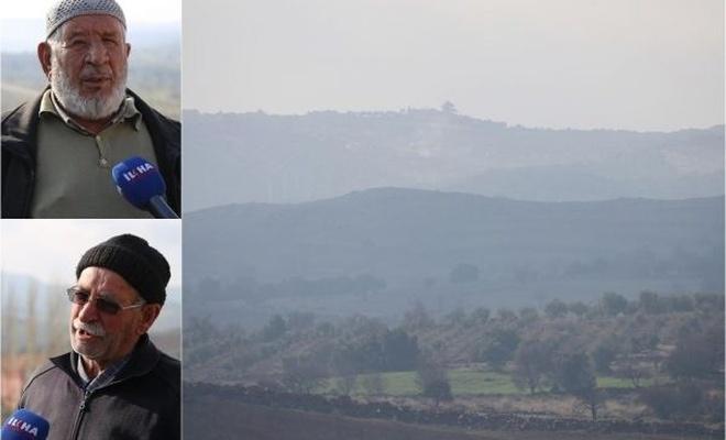 Darmık Dağı eteğindeki köylüler İLKHA`ya konuştu