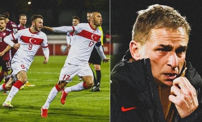 A Milli Takım Dünya Kupası umutlarını sürdürdü