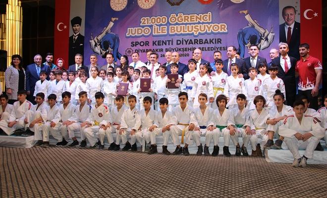 Judo federasyonu ile Dicle Üniversitesi arasında protokol imzalandı