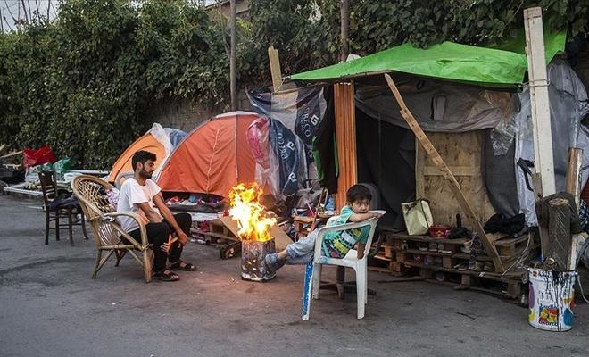 Yunanistan'da mültecilerin yaşam mücadelesi