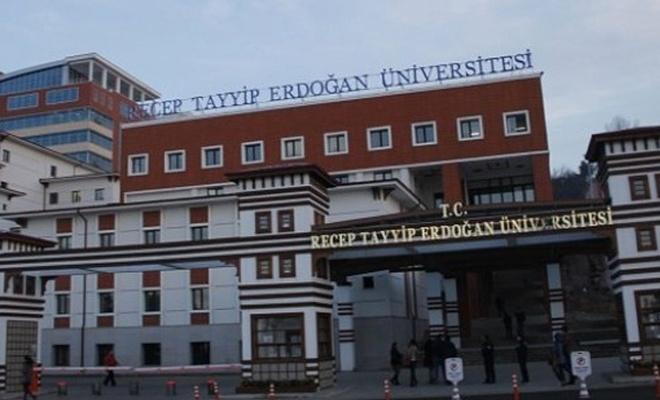 Rize RTEÜ`de 14 akademisyen açığa alındı