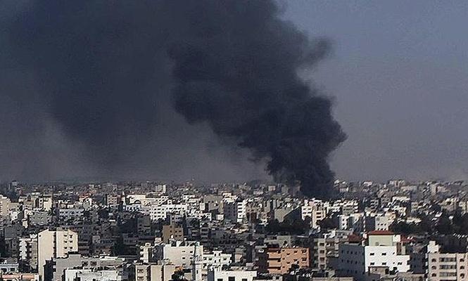 İşgal çetesi yine Gazze`yi vurdu