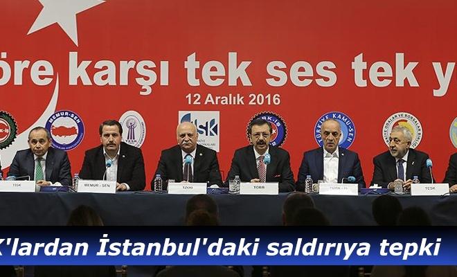 STK`lardan İstanbul`daki saldırıya tepki