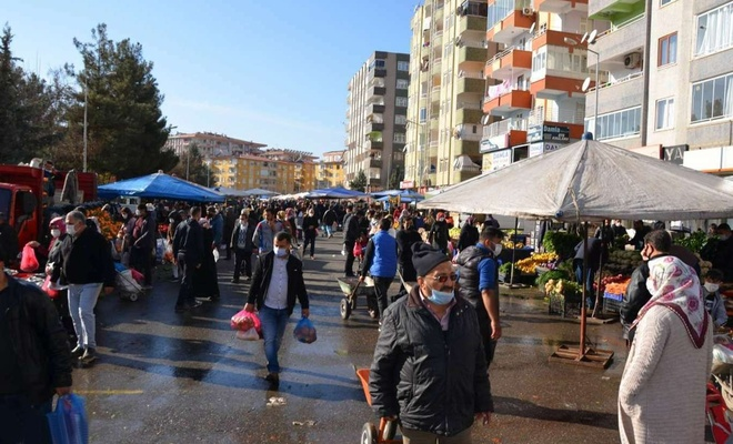Diyarbakır'da pazar kurulacak yerler belli oldu!