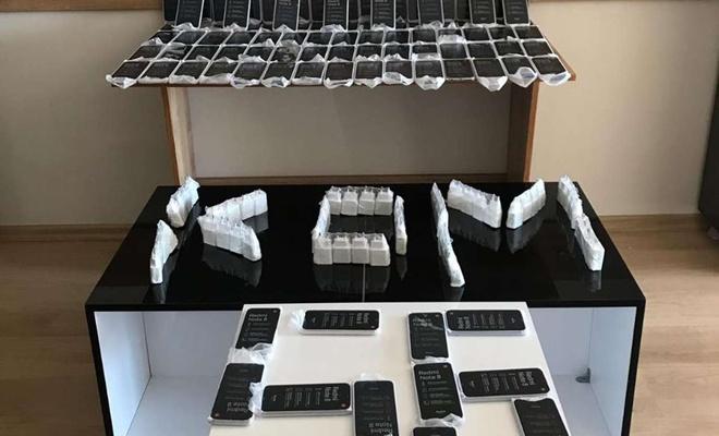 Siirt'te 143 adet gümrük kaçağı cep telefonu ve sigara eleçeçirildi