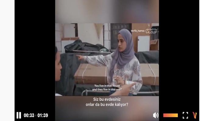Şeyh Cerrah Mahallesi'nde yaşayan genç bir kadın, Siyonist yargısının ne kadar adil(!) olduğunu anlattı