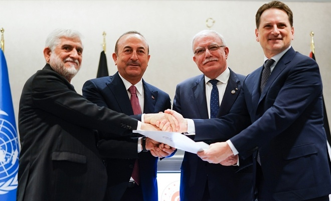 Afganistan'dan anlamlı mesaj! UNRWA'ya 1 milyon dolar yardım