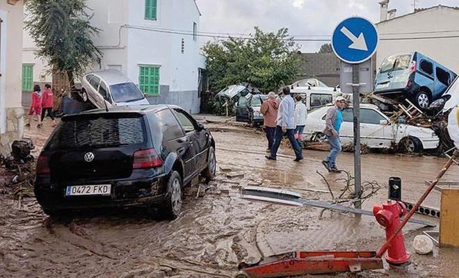 İspanya`da sel: 8 ölü