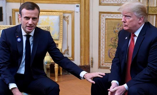 Macron'dan Trump'a: Duruşunu netleştir