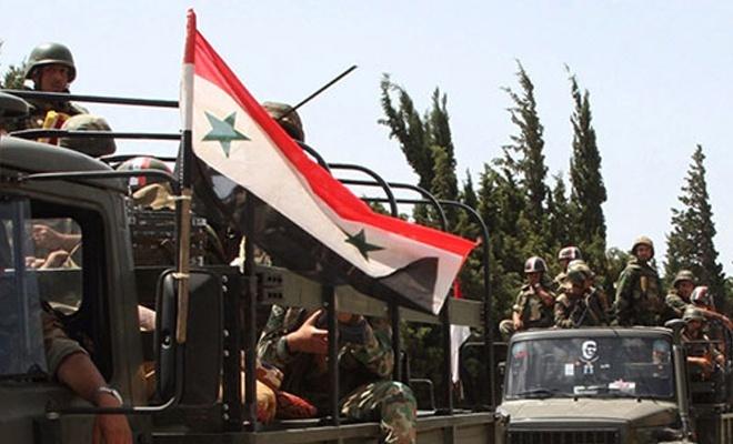 BAAS rejimi Kobani'ye girdi
