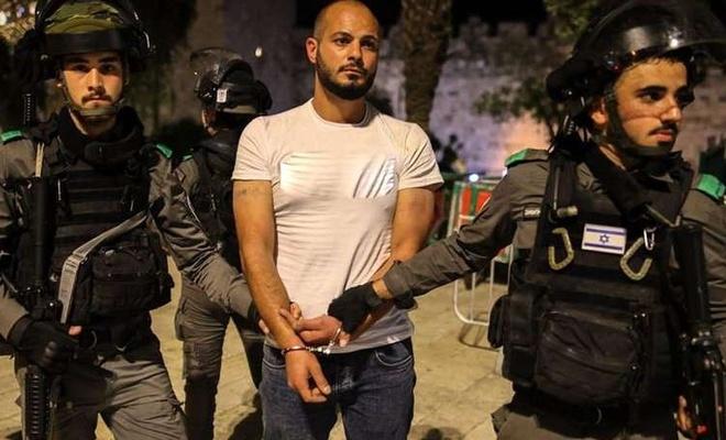 İşgal altındaki Filistin topraklarında çok sayıda kişi işgalcilerce alıkonuldu