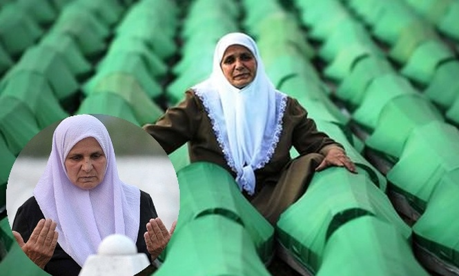 Srebrenista annesi vefat etti