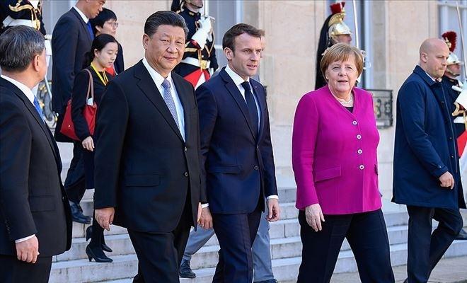 Macron: Çin ile aramızdaki ilişkiler vazgeçilmez oldu
