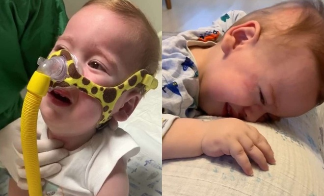 SMA hastası Hamza bebeğe nefes olacaklar aranıyor