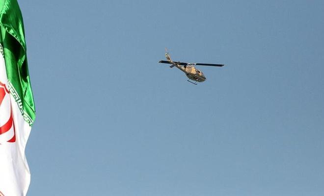 İran'da seçim sandıkları taşıyan helikopter düştü