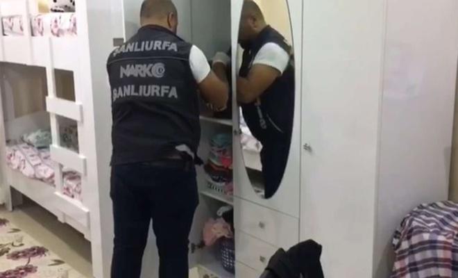 Şanlıurfa'da uyuşturucu operasyonunda 9 şüpheli yakalandı