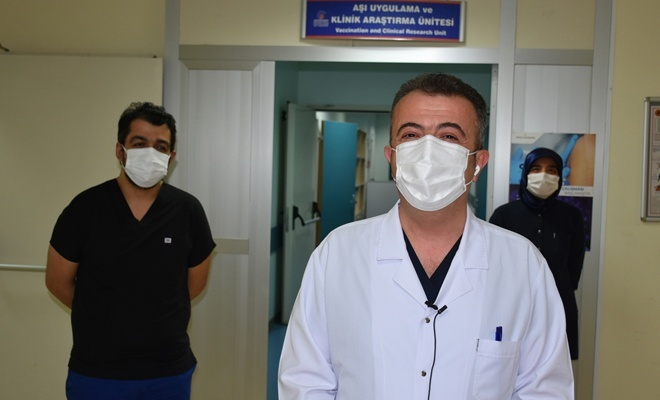 Çin aşısına gönüllüler başvuruda bulundu
