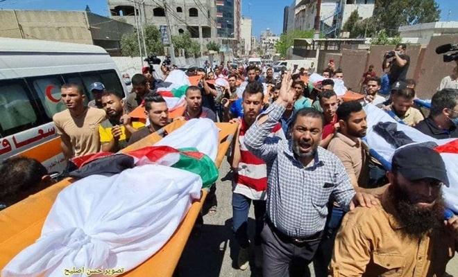 Gazze'de şehid sayısı 212'ye yükseldi