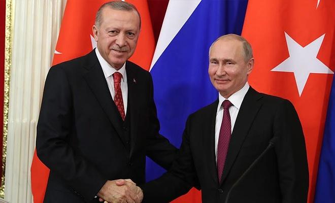 Erdoğan-Putin görüştü