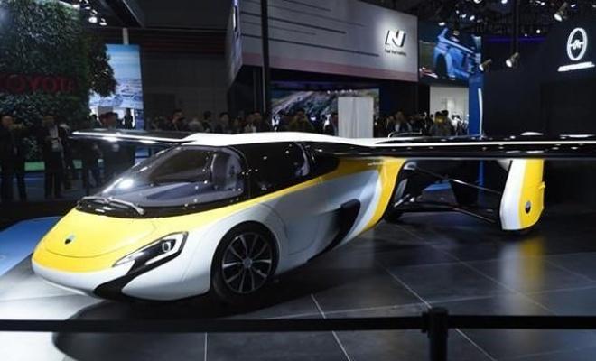 Hyundai'den, 'uçan otomobil' atağı