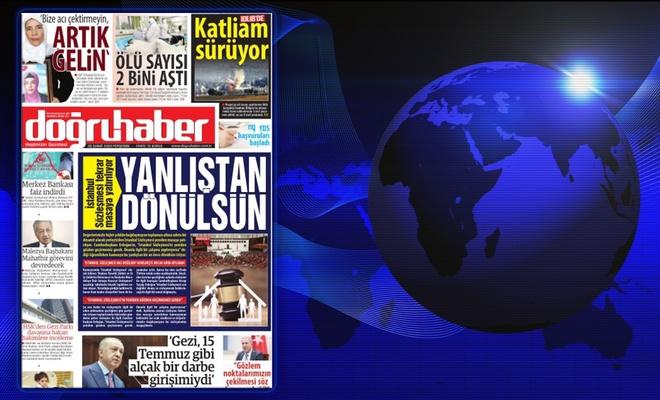 İstanbul Sözleşmesi tekrar masaya yatırılıyor; YANLIŞTAN DÖNÜLSÜN