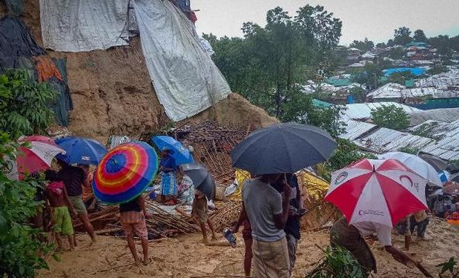Bangladeş'te heyelan: 5 Arakanlı Müslüman öldü