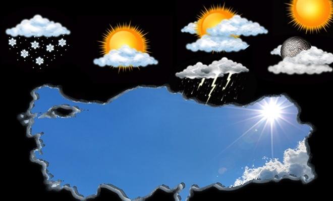 Bugün Türkiye'de hava nasıl olacak?