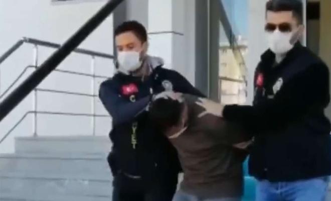 Kadını darbederek çantasını gasp eden şahıs tutuklandı