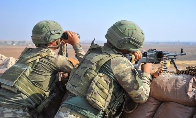 MSB: PKK/YPG'ye gerekli karşılık verilmektedir