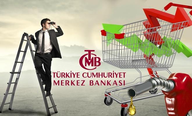 Merkez Bankası'nın enflasyon beklentisi geriledi