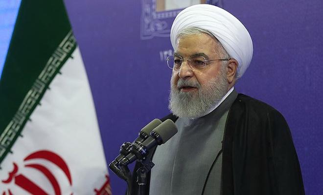 """Ruhani: """"İran'la savaş tüm savaşların anasıdır!"""""""