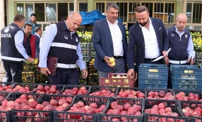 Sebze ve Meyve Halinde fiyat denetimi
