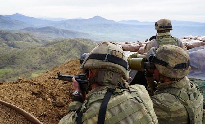 Hava destekli operasyonda 5 PKK'li öldürüldü