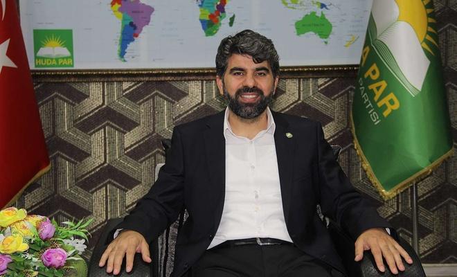 HÜDA PAR Diyarbakır İl Başkanı Dinç'ten Diyarbakır halkına teşekkür mesajı