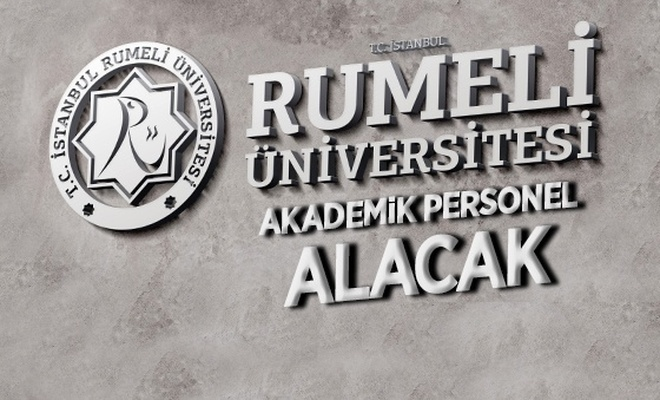 İstanbul Rumeli Üniversitesi 17 Öğretim Üyesi alıyor