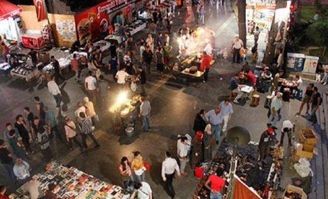 Kaldırılmak istenen akşam pazarı tepkilere neden oldu